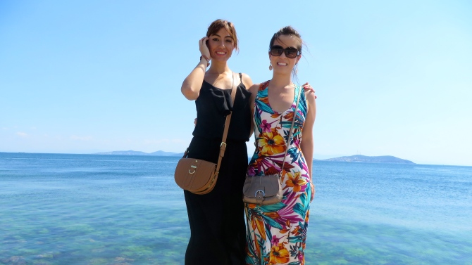 Me and Merve at Marmara Sea!