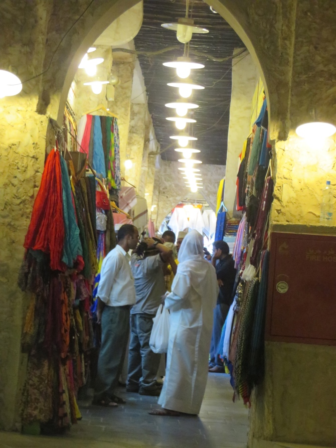 One of the souq's alleyways