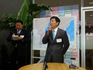 "Mr. Park Sang-Hak, aka ""Enemy Zero"" according to the North Korean government. He leads the Fighters for Free North Korea"