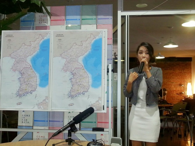 "Ms. Yeon-Mi Park speaking about how watching an illegal copy of ""The Titanic"" convinced her to defect from North Korea"